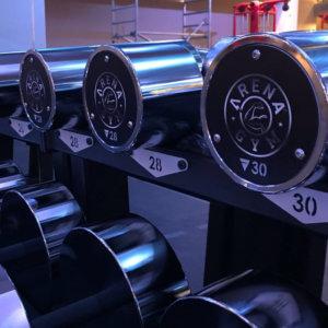 Arena The Gym Custom Kurzhanteln
