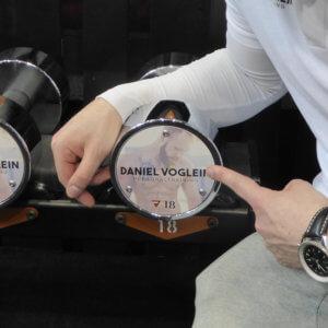 Daniel Vöglein Custom Kurzhanteln
