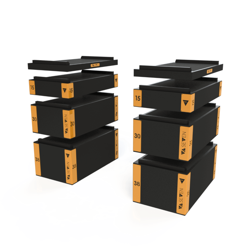 VA SEVEN Wood Jerk Blocks Set